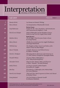 Interpretation Journal Volume 46, Issue 1 (Fall 2019)